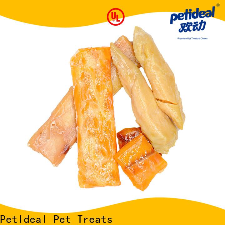 PetIdeal healthy pet treats manufacturers for orange cat