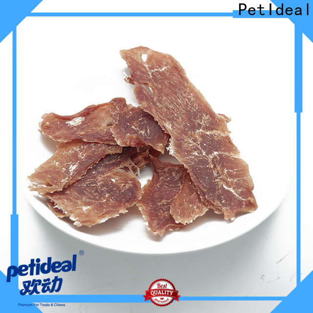 PetIdeal meat dog treats factory price for pets