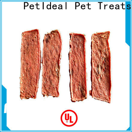 PetIdeal 100% natural treats for your dog no artificial colours for pets