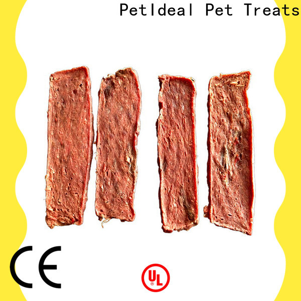 PetIdeal wholesale all natural puppy treats factory price for golden retriever