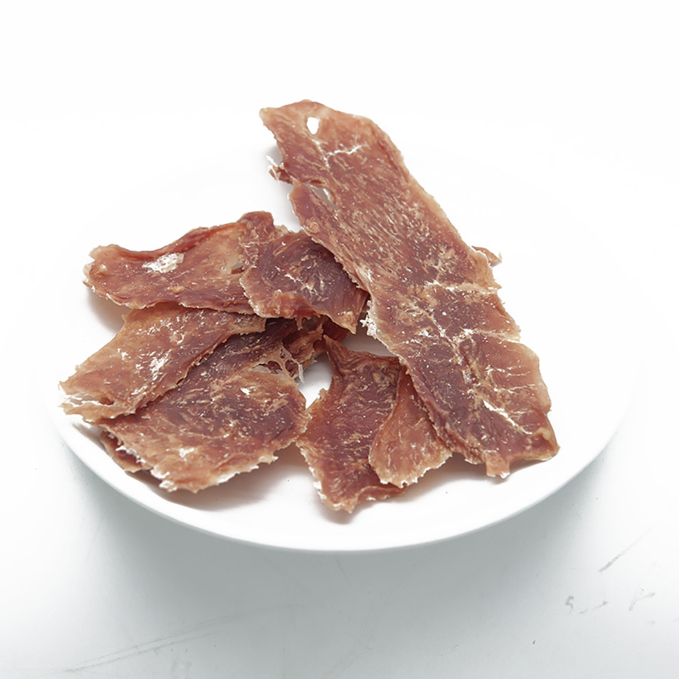 Dry Chicken Duck Beef Meat Dog Treats 100% Natural Food