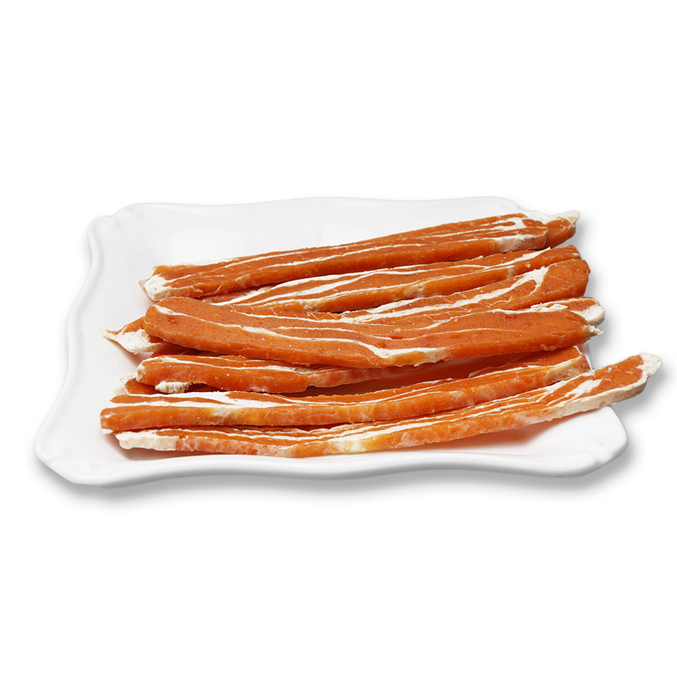 OEM Most Nutritious Dog Treats Lamb Beef Chicken Strips Supplier