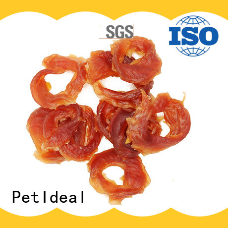 PetIdeal 100% natural easy healthy dog treats company for dogs
