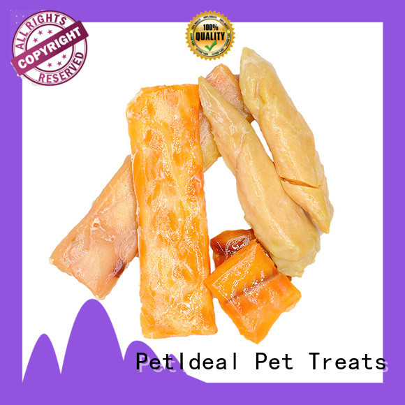 PetIdeal new popular cat treats mellow taste for white cat