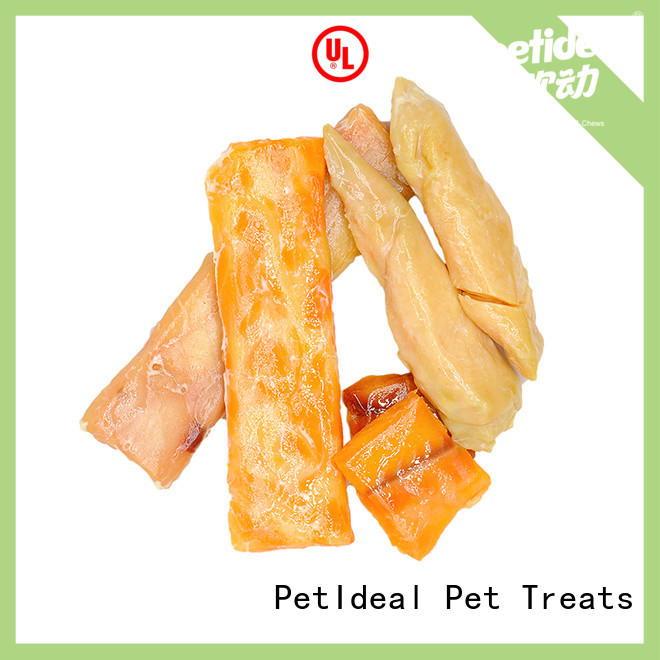 PetIdeal make chicken cat treats manufacturers for short cat
