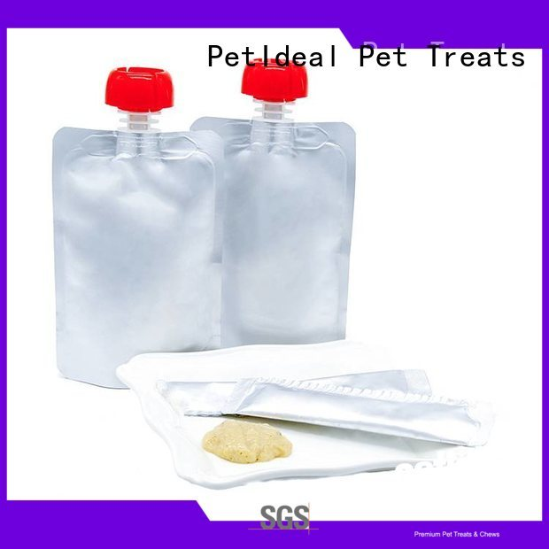 PetIdeal wet cat treats shop online for white cat