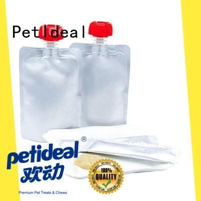 PetIdeal premium pet treats cost for orange cat