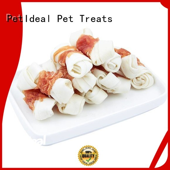 PetIdeal round dog treats no artificial colours for golden retriever