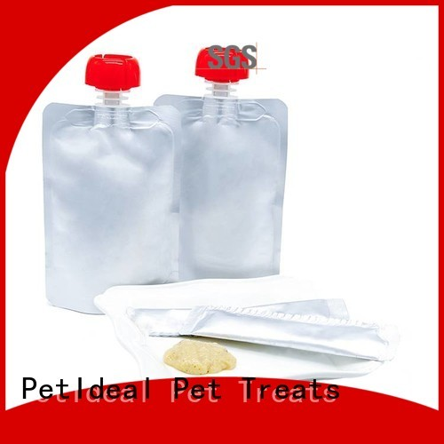 PetIdeal make all natural cat treats best price for orange cat