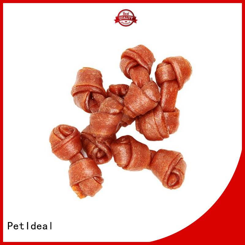 PetIdeal look for canine dog treats company for pets