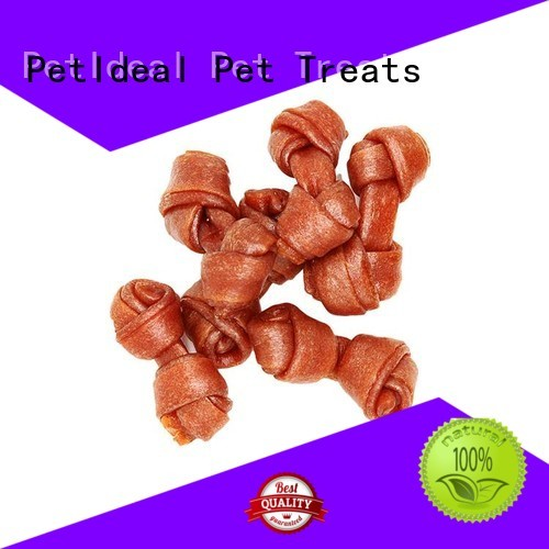 PetIdeal wholesale round dog treats factory price for small dog