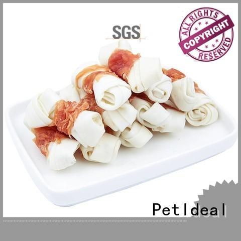 PetIdeal 100% natural good healthy dog treats company for golden retriever