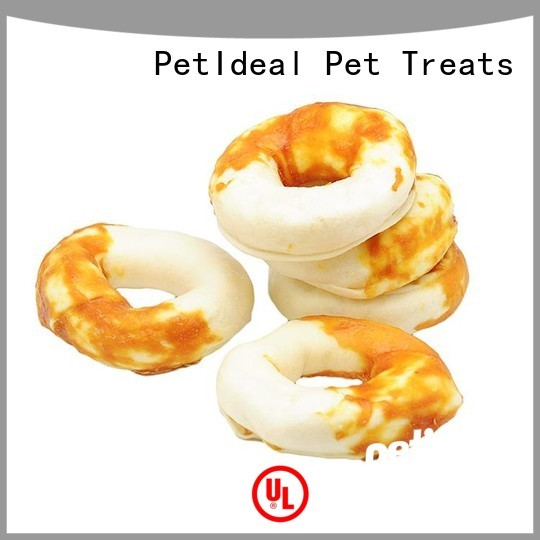 PetIdeal round dog treats factory price for