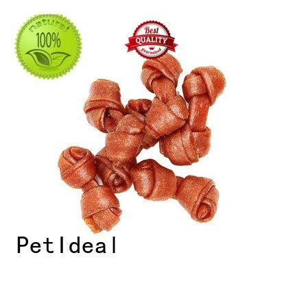 PetIdeal dog treats and chews company for dogs