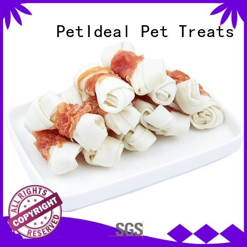PetIdeal easy healthy dog treats company for dogs