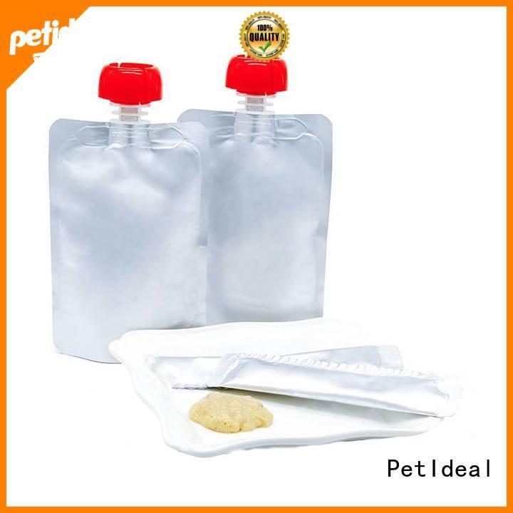 PetIdeal make vegetarian cat treats you can buy for orange cat