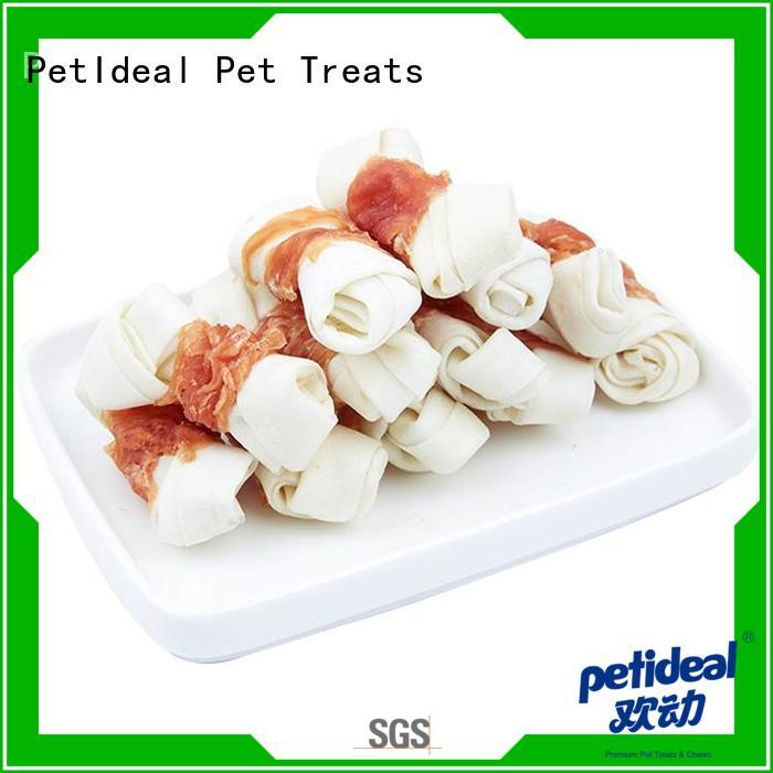 PetIdeal dog treats chews hot sale for dogs